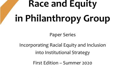 "REPG Paper Series: ""Incorporating Racial Equity and Inclusion into Institutional Strategies"""