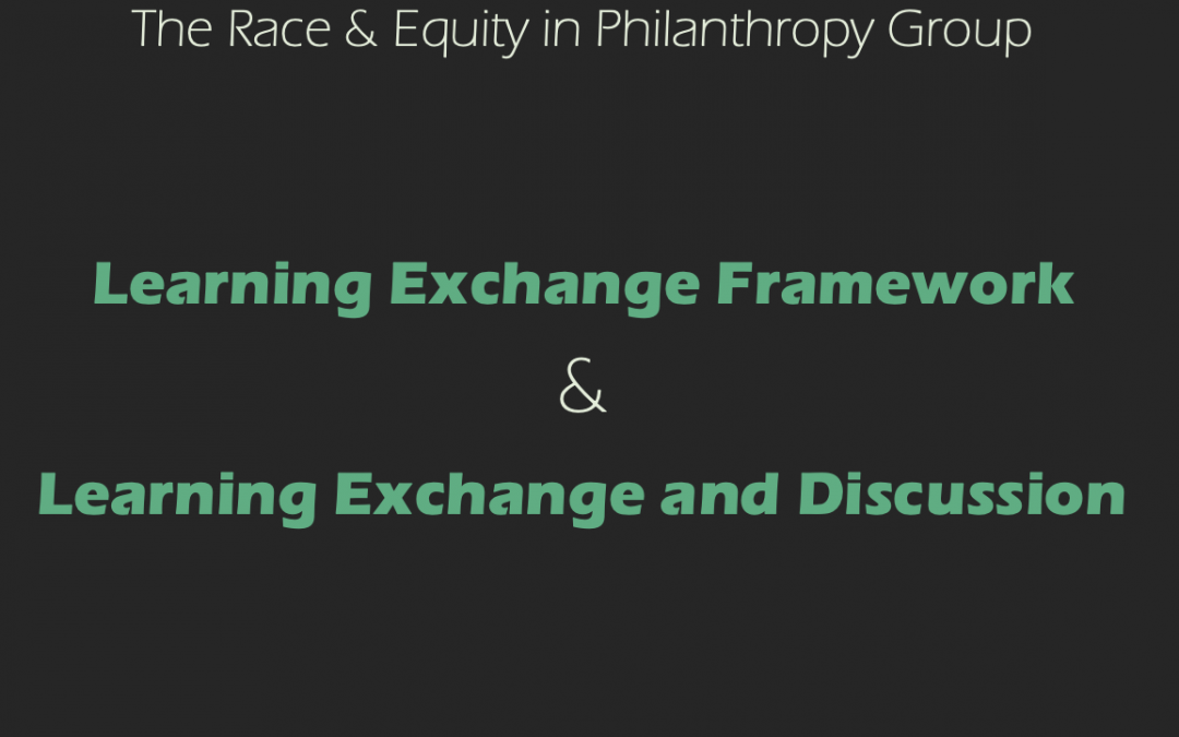 Learning Exchange Framework – February 2021