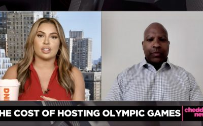 IN THE NEWS: David Maurrasse on Cheddar News (The Cost of Hosting Olympic Games)